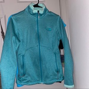 Teal The North Face Jacket